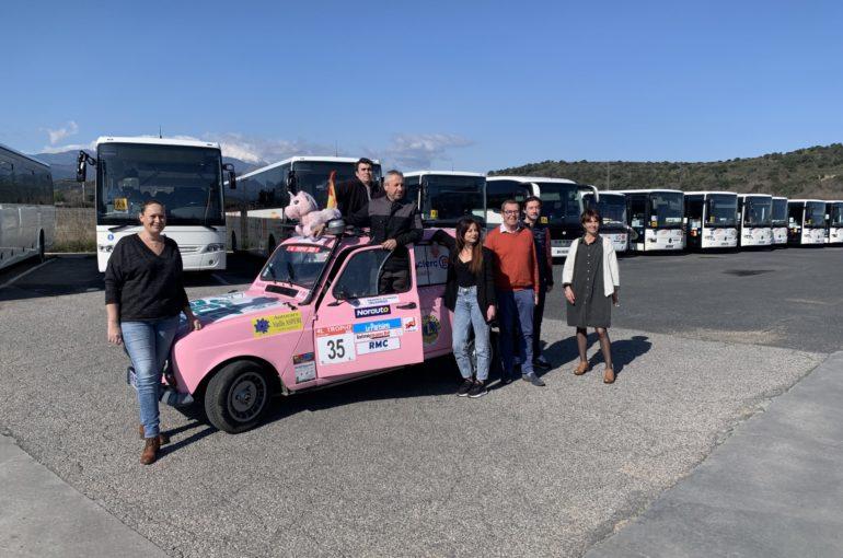Les Autocars Vaills ASPERI, partenaire des grandes gagnantes du 4L Trophy 2020