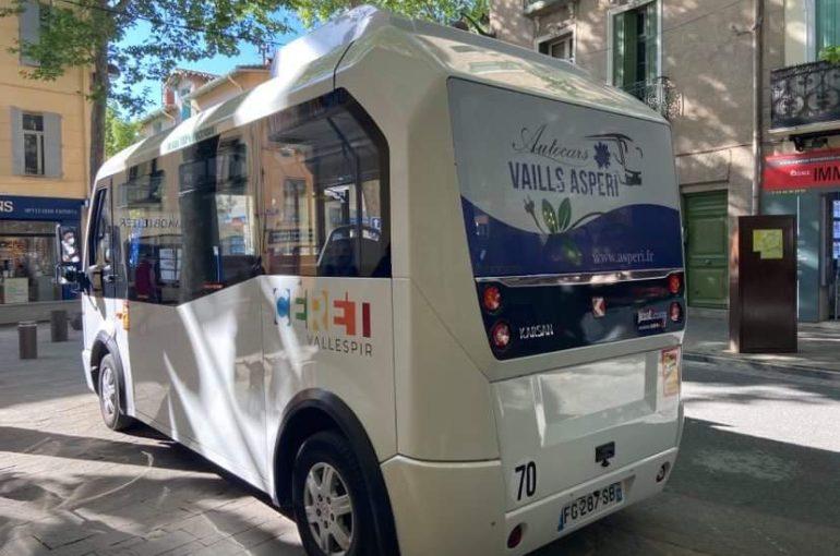 VALLESPIR : la Navette Locale de Céret devient 100% électrique